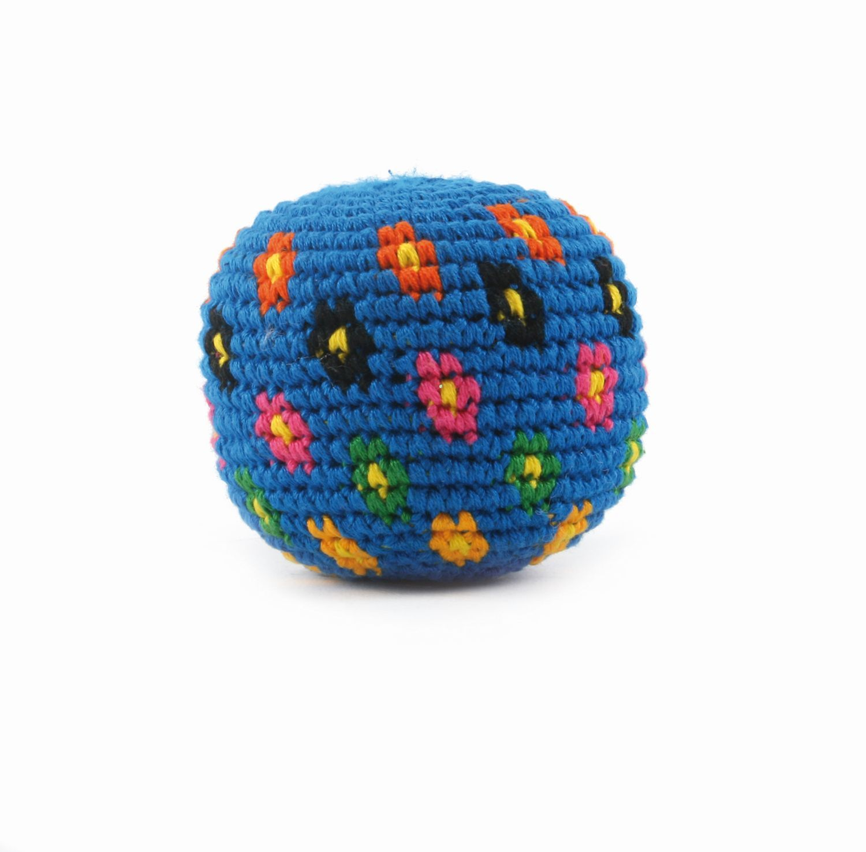 Jonglierball Blumen