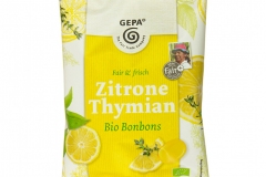 Bonbons Zitrone Thymian